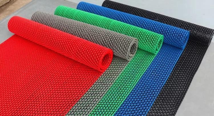 Các màu của thảm nhựa dạng lưới