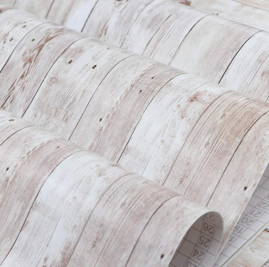 Giấy dán tường vân gỗ cách tân