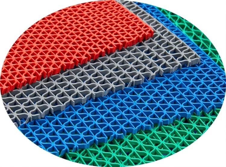 hình ảnh chi tiết về tham nhựa dạng lưới