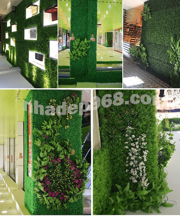 tường cây giả hà nội