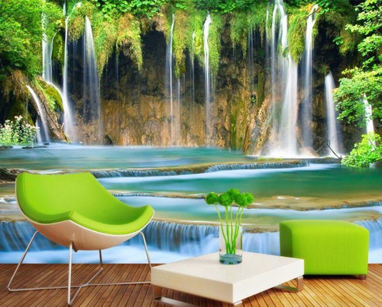Giấy dán tường phong cảnh