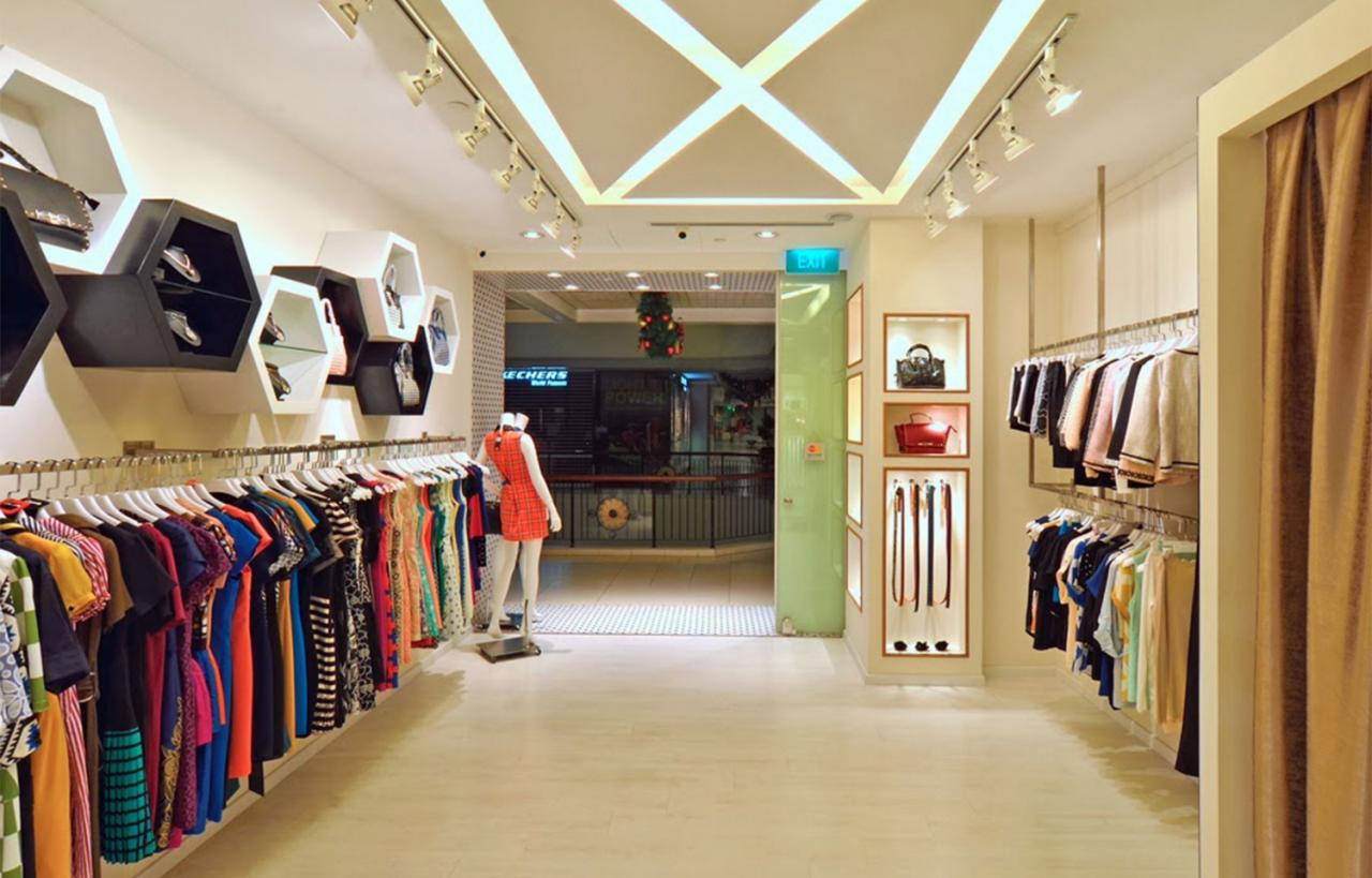 Chọn xốp dán tường cho shop quần áo phụ thuộc vào giới tính của khách hàng