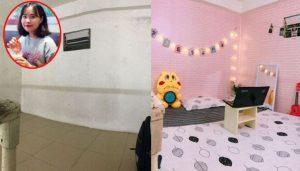 Căn phòng trước và sau khi F5