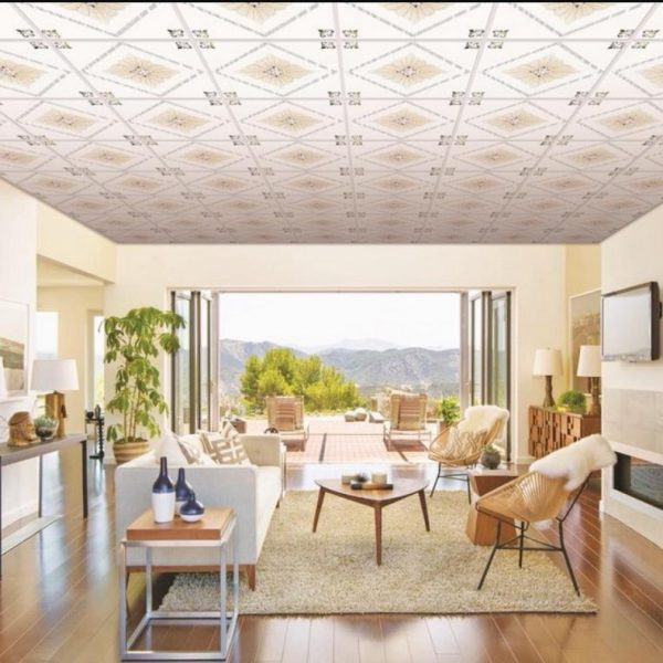 Tấm nhựa pvc thả trần cao cấp giúp làm đẹp ngôi nhà của bạn