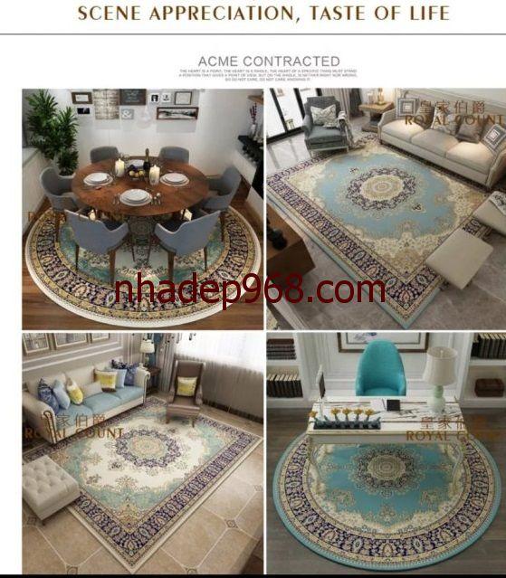 các kiểu thảm trải sàn
