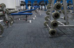 thảm trải sàn cho phòng gym