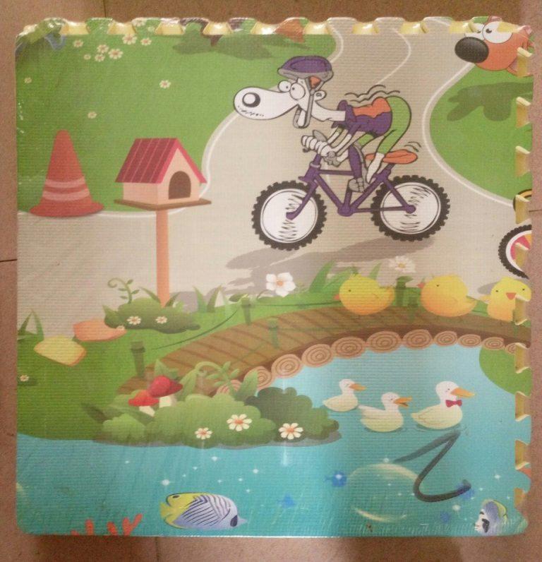 Thảm xốp ghép sàn hoạt hình cho bé