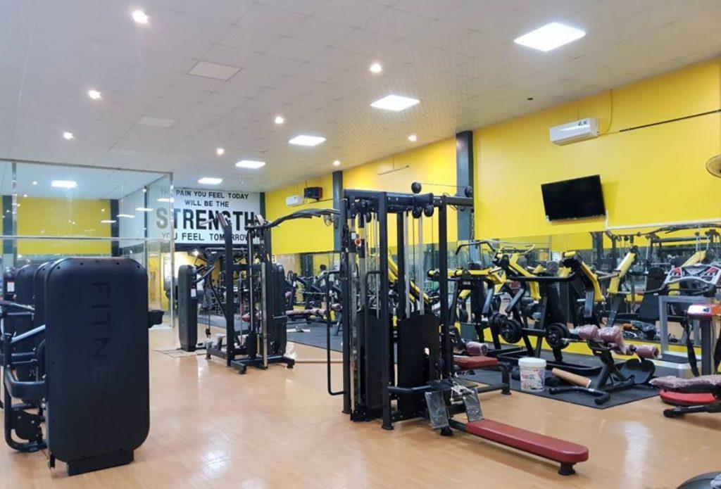 Nhadep968 dán xốp dán tường cho phòng tập gym