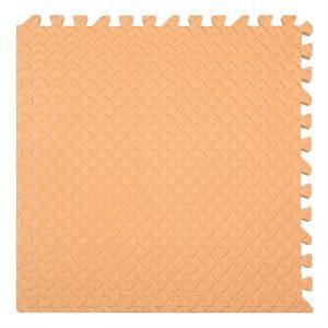 xốp ghéo sàn màu cam 60x60