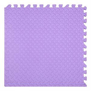xốp ghéo sàn màu tím 60x60