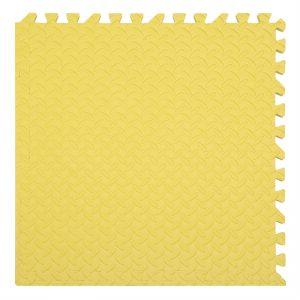xốp ghéo sàn màu vàng 60x60