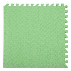 xốp ghéo sàn màu xanh lá cây 60x60