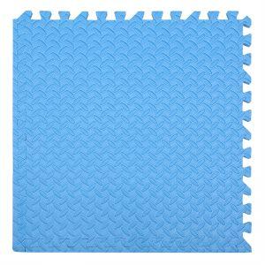 xốp ghéo sàn màu xanh nước biển 60x60