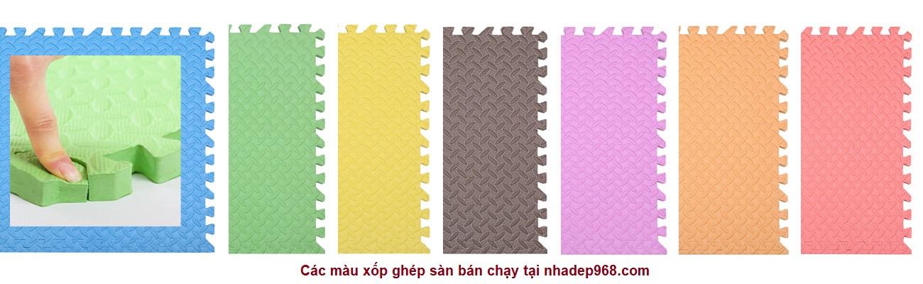 Sản phẩm thảm xốp lót sàn 60 x 60 cm giá rẻ