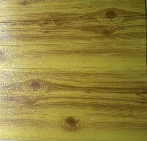 xốp dán tường Vân gỗ vàng mắt đen